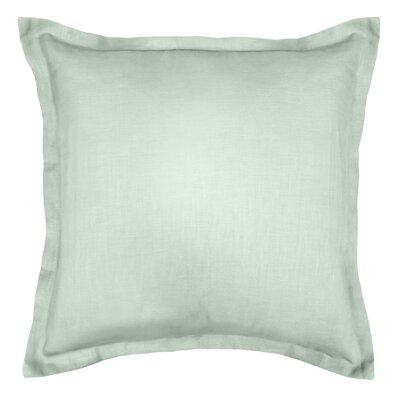 Bluffridge Linen Euro Pillow Color: Sage