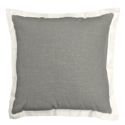 Bluffridge Linen Throw Pillow Color: Khaki