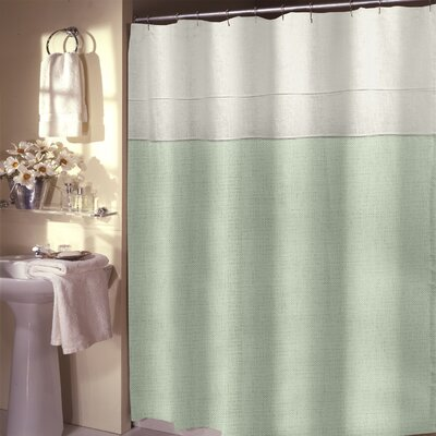 Teo Shower Curtain Color: Mint