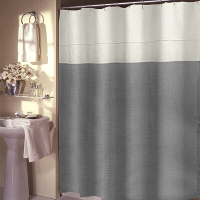 Teo Shower Curtain Color: Cedar