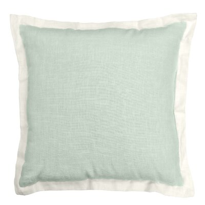 Bluffridge Linen Throw Pillow Color: Ferm
