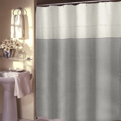 Teo Shower Curtain Color: Sky Blue