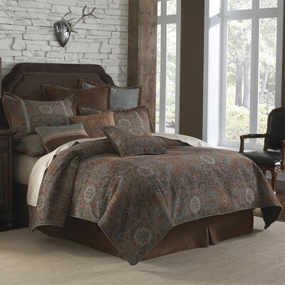 Fantina 4 Piece Comforter Set Size: Queen