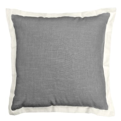 Bluffridge Linen Throw Pillow Color: Coffee