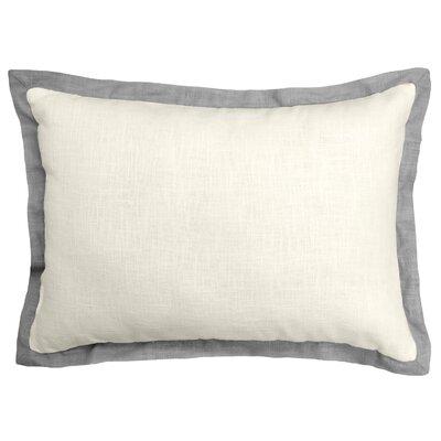 Bluffridge Linen Boudoir Pillow Color: Dark Gray