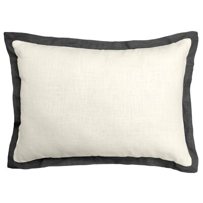 Bluffridge Linen Boudoir Pillow Color: Charcol