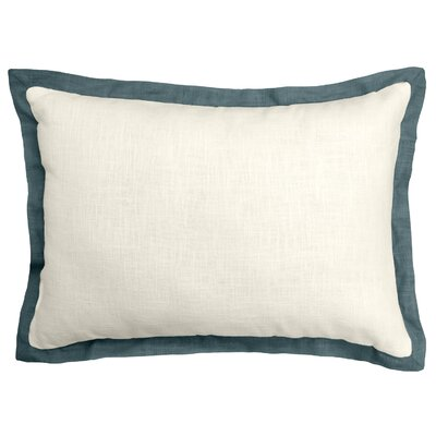 Bluffridge Linen Boudoir Pillow Color: Marine Green