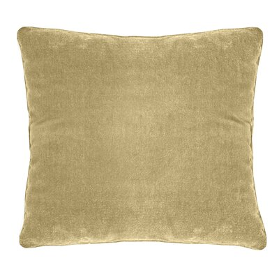 Ted Soft Velvet Throw Pillow Color: Musturd