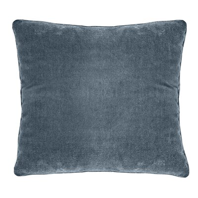Ted Soft Velvet Throw Pillow Color: Viridian
