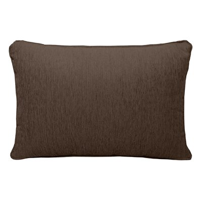 Brownsburg Chenille Lumbar Pillow Color: Brown
