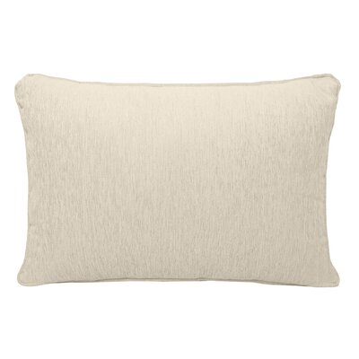 Brownsburg Chenille Lumbar Pillow Color: Cream