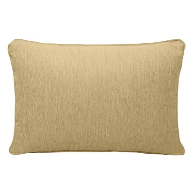 Brownsburg Chenille Lumbar Pillow Color: Gold