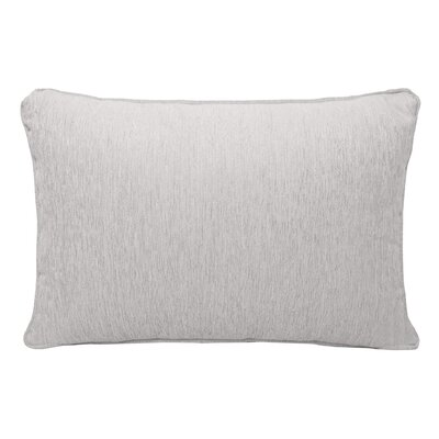 Brownsburg Chenille Lumbar Pillow Color: White