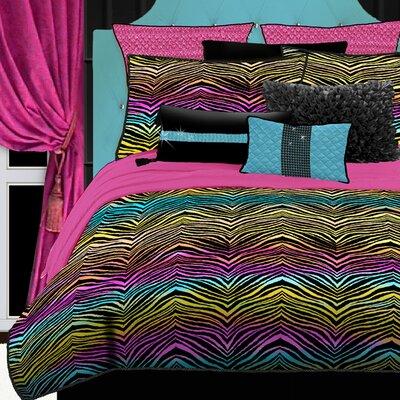 Luxury Bedding Sets Animal Print on Rainbow Animal Print Bedding