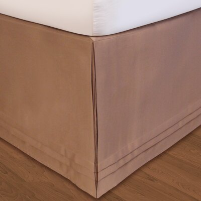 Matte Bed Skirt Size: King