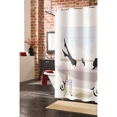 Veratex Spa Girl Polyester Shower Curtain at Sears.com