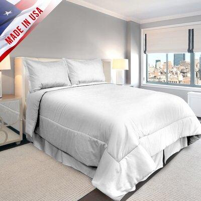 Veratex Supreme Sateen Comforter Set - Color: White, Size: California King at Sears.com