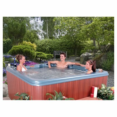 SPA, HOT TUB, JACUZZI Nassau 7 Person - Non-Lounger Plug and Play Spa