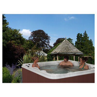 SPA, HOT TUB, JACUZZI Montego Bay 7 Person - Non-Lounger Spa Color: Silver Marble