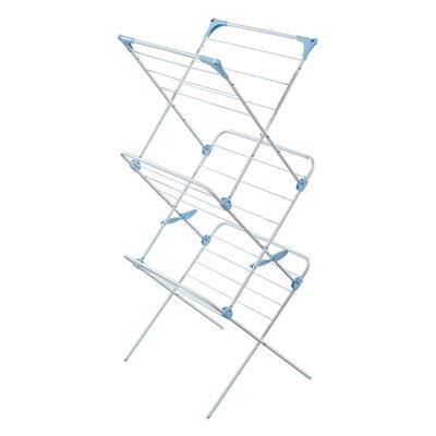 Three Tier Trio Concertina Indoor Drying Rack in White IH86400390
