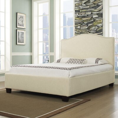 Easy furniture financing Venice-X Panel Bed Size: King, Fini...