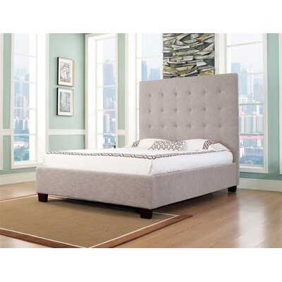 In store financing Malibu-X Panel Bed Size: Queen, Fin...