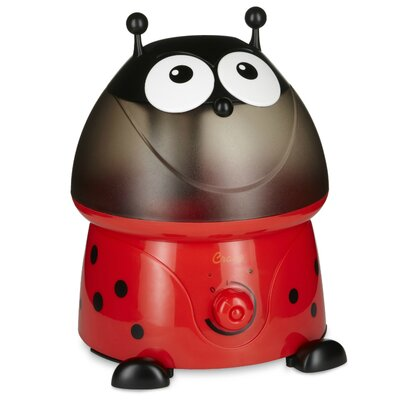 Crane Lily Lady Bug 1 Gal. Cool Mist Ultrasonic Humidifier with Filter EE-8247BF