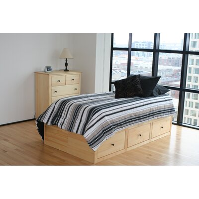 Easy financing Windridge Storage Platform Bed Size...