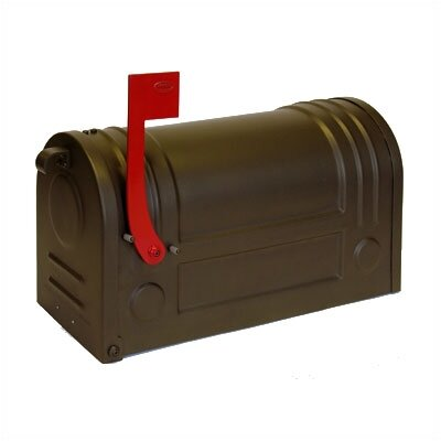 Ecco Curbside Post Mounted Mailbox