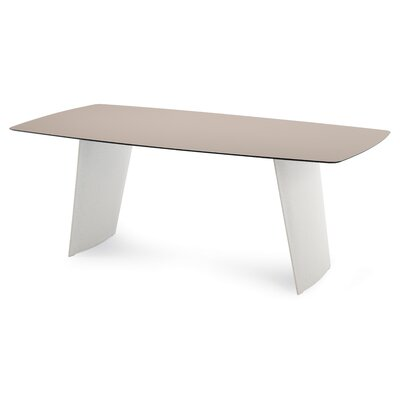 Agosta Dining Table Table Top Color: Sand