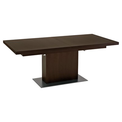Vita Extendable Dining Table Table Finish: Wenge