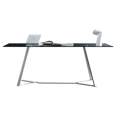 Archie Dining Table Finish: White Lacquered