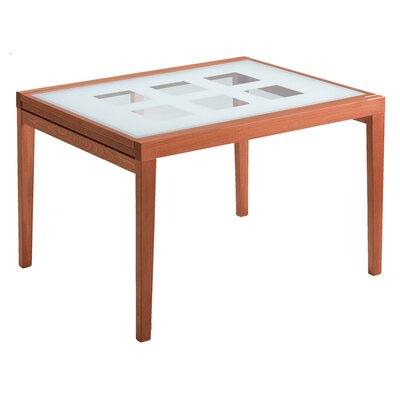 Poker 120 Extendable Dining Table Finish Walnut