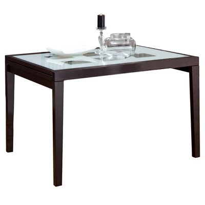 Poker-120 Extendable Dining Table Finish: Wenge