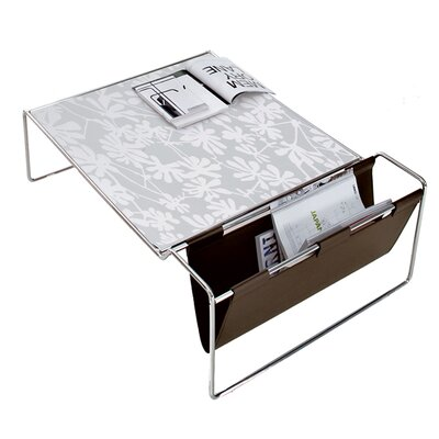 Bijou Coffee Table Finish: White Glass Pattern