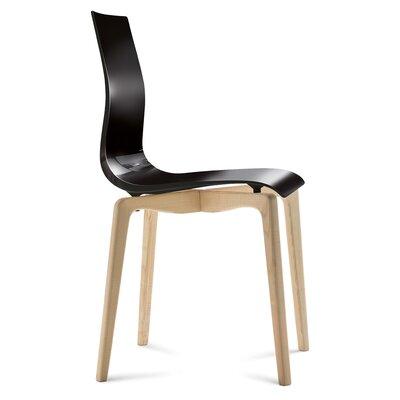 Gel-L Side Chair Finish: Black