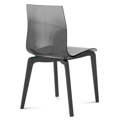 Gel-L Side Chair (Set of 2) Finish: Anthracite, Color: Smoke