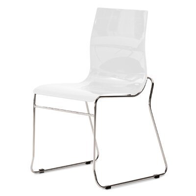 Gel Side Chair (Set of 2) Color: White
