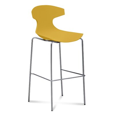 Echo 29 Bar Stool Upholstery: Mustard