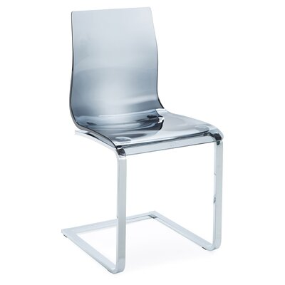 Gel SL Side Chair (Set of 2) Finish: Smoke