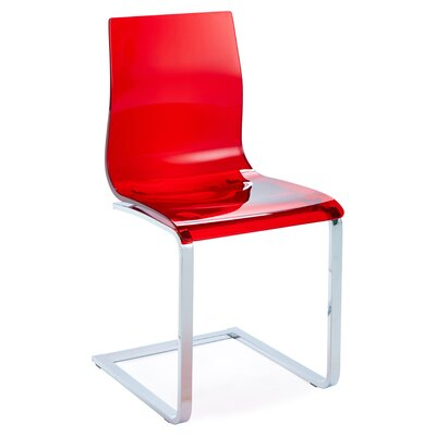 Gel SL Side Chair (Set of 2) Finish: Red