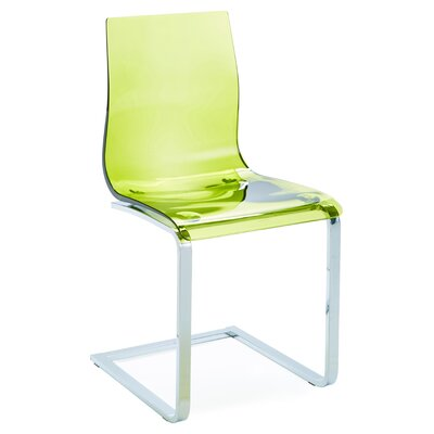 Gel SL Dining Chair (Set of 2) Finish: Transparent Green