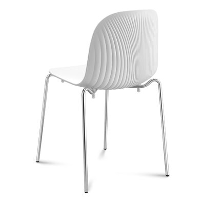 Playa Dining Chair (Set of 2) Finish: White