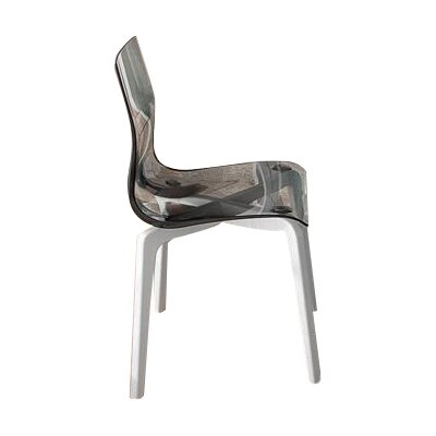Gel-L Solid Wood Dining Chair Finish: Transparent Smoke