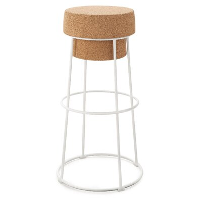 Bouchon 30 Bar Stool Finish: White