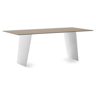 Stone T Dining Table Top Finish: White Polyethylene