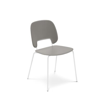 Ravsten Upholstered Dining Chair Upholstery: Sand, Finish: White