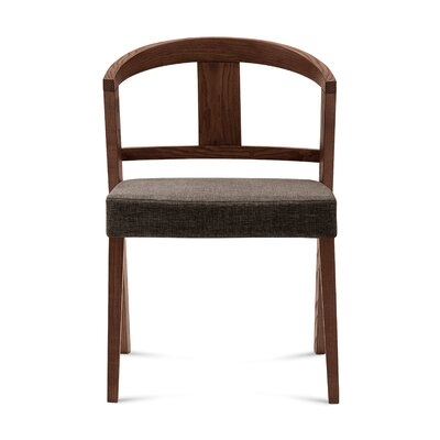 Gea Side Chair (Set of 2) Finish: Flirt Brown