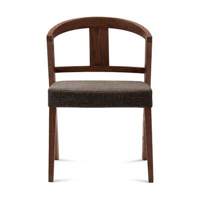 Gea Side Chair (Set of 2) Finish: Flirt Brown