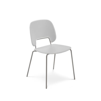 Ravsten Upholstered Dining Chair Upholstery: Light Gray, Finish: Sand
